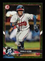 Ronald Acuna 2018 Bowman Prospects Camo #BP1 at PristineAuction.com
