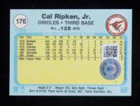 Cal Ripken Jr. Signed 1982 Fleer #176 RC (Beckett COA) at PristineAuction.com
