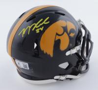 George Kittle Signed Iowa Hawkeyes Speed Mini Helmet (Beckett Hologram) at PristineAuction.com