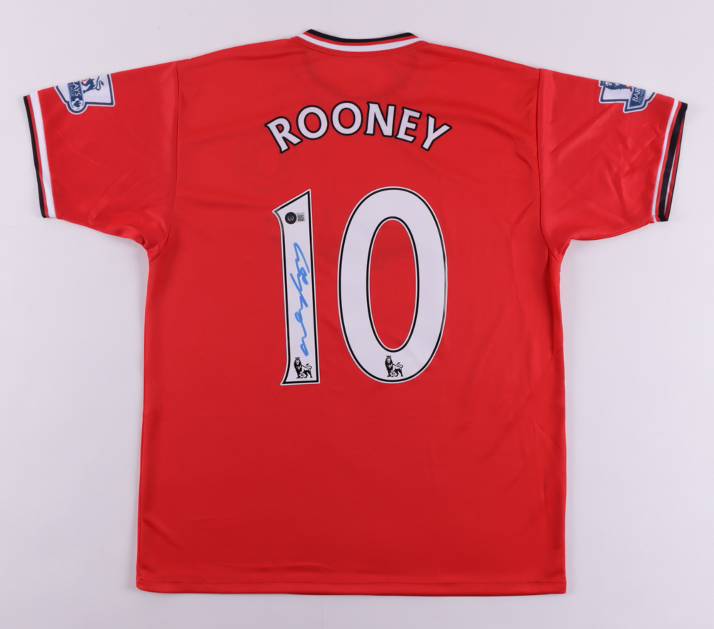 Wayne Rooney Signed Jersey (Beckett COA) at PristineAuction.com