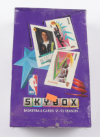 1991-92 Skybox Basketball Hobby Box with (36) Packs (See Description) at PristineAuction.com