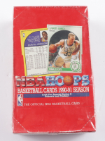 1990-91 NBA Hoops Series II Basketball Box of (36) Packs (See Description) at PristineAuction.com