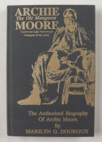 """Archie Moore Signed """"Archie Moore: The Ole Mongoose: The Authorized Biography of Archie Moore, Undefeated Light Heavyweight Champion of the World"""" Hardcover Book Inscribed """"5-5-91"""" & """"Best Wishes From"""" (PSA COA) (See Description) at PristineAuction.com"""
