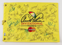 Arnold Palmer Invitational Golf Pin Flag Signed by (59) with Davis Love III, Kenny Perry, Dustin Johnson, Corey Pavin, Matt Jones (Beckett LOA) at PristineAuction.com