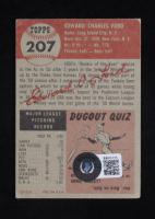 Whitey Ford Signed 1953 Topps #207 (Beckett COA) at PristineAuction.com