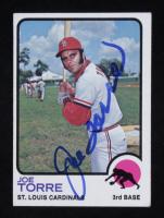 Jor Torre Signed 1973 Topps #450 (Beckett COA) at PristineAuction.com