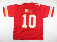 Tyreek Hill Signed Jersey (JSA COA) (See Description) at PristineAuction.com