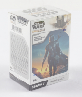 Star Wars The Mandalorian Season 2 Trading Cards Blaster Box with (10) Packs at PristineAuction.com