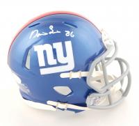 Darius Slayton Signed Giants Speed Mini-Helmet (JSA COA) at PristineAuction.com