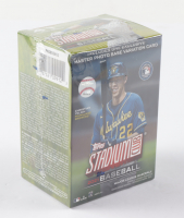 2021 Topps Stadium Club Baseball Blaster Box With (8) Packs (See Description) at PristineAuction.com