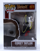 "Corey Taylor Signed Pop! Rocks ""Slipknot"" #177 Corey Taylor Funko Pop! Vinyl Figure (JSA COA) at PristineAuction.com"