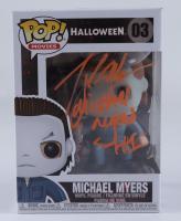 "Tony Moran Signed ""Halloween"" #03 Michael Myers Funko Pop! Vinyl Figure Inscribed ""Michael Myers H1"" (JSA COA) at PristineAuction.com"