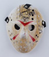 """Warrington Gillette Signed Jason """"Friday the 13th Part II"""" Hockey Mask Inscribed """"Jason II, 146 Kills & Counting..."""" (Legends Hologram) at PristineAuction.com"""