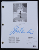 "Ralph Macchio Signed ""The Karate Kid"" Movie Script (Beckett Hologram) at PristineAuction.com"