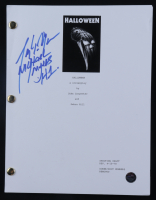"""Tony Moran Signed """"Halloween"""" Movie Script Inscribed """"Michael Myers H1"""" (Legends COA) at PristineAuction.com"""