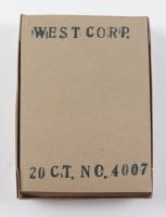 1973 West Corp Vendors Box of (20) Baseball Fun Packs at PristineAuction.com