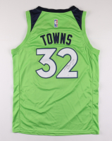 Karl-Anthony Towns Signed Timberwolves Game Jersey (JSA COA) at PristineAuction.com