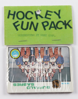 1975-76 Topps Hockey Card Fun Pack with (10) Cards at PristineAuction.com