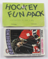 1976-77 Topps Hockey Card Fun Pack with (10) Cards at PristineAuction.com