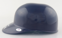 """Nolan Ryan Signed Astros Full-Size Batting Helmet with Display Case Inscribed """"7 No - Hitter"""" (PSA COA) at PristineAuction.com"""