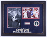 Set of (10) U.S. President Signed Custom Framed Displays with Richard Nixon, George H.W. Bush, Bill Clinton, Gerald Ford (Beckett LOA, JSA COA & JSA LOA) at PristineAuction.com