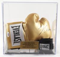 Julio Cesar Chavez Everlast Boxing Glove with Display Case (PSA COA) (See Description) at PristineAuction.com