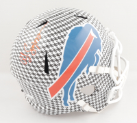 O.J. Simpson Signed Bills Full-Size Hydro-Dipped Speed Helmet (JSA COA) at PristineAuction.com