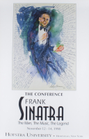"""LeRoy Neiman """"The Conference"""" Frank Sinatra 21x32 Art Print at PristineAuction.com"""