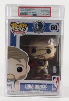 Luka Doncic Signed Mavericks #60 Basketball Funko Pop! Vinyl Figure (PSA Encapsulated) at PristineAuction.com