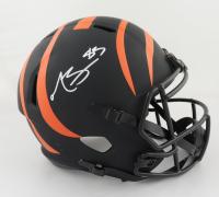 Tyler Boyd Signed Bengals Full-Size Eclipse Alternate Speed Helmet (Beckett Hologram) at PristineAuction.com