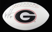 Kearis Jackson Signed Georgia Bulldogs Logo Football (JSA COA & Jackson Hologram) (See Description) at PristineAuction.com