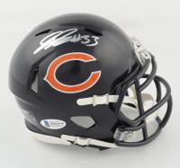 Jaylon Johnson Signed Bears Speed Mini-Helmet (Beckett COA) at PristineAuction.com