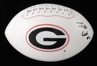 James Cook Signed Georgia Bulldogs Logo Football (JSA COA & Cook Hologram) (See Description) at PristineAuction.com