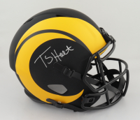 Torry Holt Signed Rams Full-Size Eclipse Alternate Speed Helmet (Beckett Hologram) (See Description) at PristineAuction.com