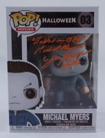 "James Winburn Signed Pop! Movies ""Halloween"" #03 Michael Myers Funko Pop! Vinyl Figure Inscribed ""Halloween 1978, Michael Myers, Stunts"" (JSA Hologram & Legends COA) at PristineAuction.com"