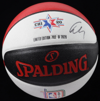 Luka Doncic Signed LE 2020 NBA All Star Weekend Money Basketball (PSA COA) (See Description) at PristineAuction.com