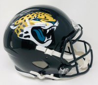 Trevor Lawrence Signed Jaguars Full-Size Authentic On-Field Speed Helmet (Fanatics Hologram) at PristineAuction.com