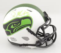 D.K. Metcalf Signed Seahawks Lunar Eclipse Alternate Speed Mini-Helmet (Beckett COA) at PristineAuction.com