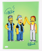 """Cheech Marin & Tommy Chong Signed """"Simpsons"""" 11x14 Photo (JSA COA) at PristineAuction.com"""