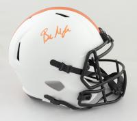 Baker Mayfield Signed Browns Full-Size Lunar Eclipse Alternate Speed Helmet (Beckett Hologram) (See Description) at PristineAuction.com