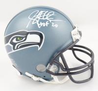 "Steve Hutchinson Signed Seahawks Mini-Helmet Inscribed ""HOF '20"" (Beckett COA) at PristineAuction.com"