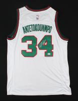 Giannis Antetokounmpo Signed Bucks Jersey (JSA COA) at PristineAuction.com