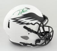 Jalen Hurts Signed Eagles Full-Size Authentic On-Field Lunar Eclipse Alternate Speed Helmet (PSA COA) (See Description) at PristineAuction.com