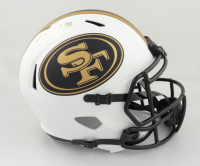 Nick Bosa Signed 49ers Full-Size Lunar Eclipse Alternate Speed Helmet (Beckett Hologram) (See Description) at PristineAuction.com