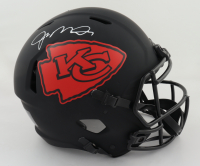 Joe Montana Signed Chiefs Full-Size Authentic On-Field Eclipse Alternate Speed Helmet (Beckett Hologram) (See Description) at PristineAuction.com