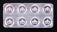 1 Oz .999 Fine Silver Monarch Building Block Silver Bullion Bar at PristineAuction.com