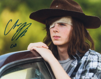 """Chandler Riggs Signed """"The Walking Dead"""" 11x14 Photo Inscribed """"Carl"""" (Radtke COA) at PristineAuction.com"""
