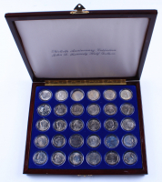 John F. Kennedy 13th Anniversary Half Dollar Collection including Silver Half Dollars at PristineAuction.com
