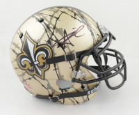 Alvin Kamara Signed Full-Size Authentic On-Field Hydro Dipped Helmet (JSA COA) (See Description) at PristineAuction.com