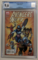 """2007 """"Avengers Next"""" Issue #1 Marvel Comic Book (CGC 9.6) at PristineAuction.com"""